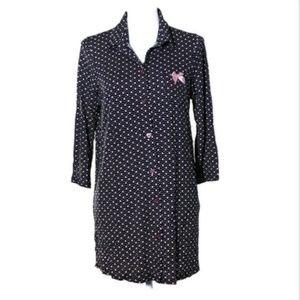 Betsey Johnson Womens Pajamas Medium Sleepshirt